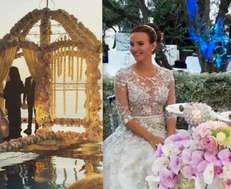 Din seria nunților de lux! Fiica unui milionar rus s-a căsătorit cu nepotul lui Gaddafi
