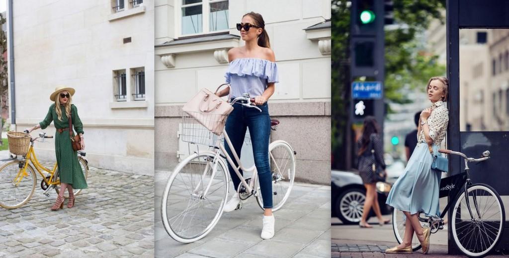 Ce ținute să porți când te plimbi cu bicicleta (Foto)