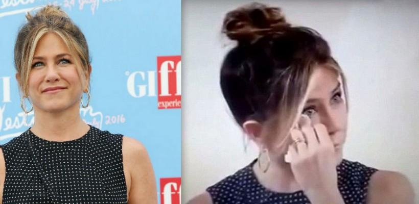 Jennifer Aniston a vorbit cu lacrimi în ochi despre perioadele dificile prin care a trecut