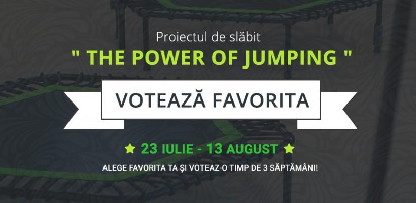 """Proiectul de slăbit sănătos """"The Power of Jumping"""" își desemnează câștigătoarea"""