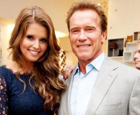 Fiica lui Arnold Schwarzenegger a îmbrăcat rochia de mireasă
