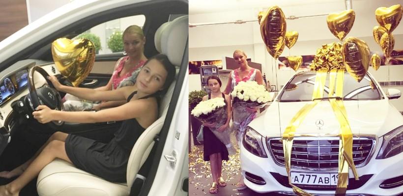 Balerina Anastasia Volochkova a primit în dar o mașină în valoare de 200 000 $