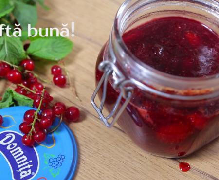 Provizii dulci pentru iarnă: Magiun din căpșuni (Video)