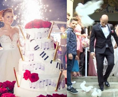 Giulia și Elena Gheorghe își celebreză Nunțile de Flori (Foto)