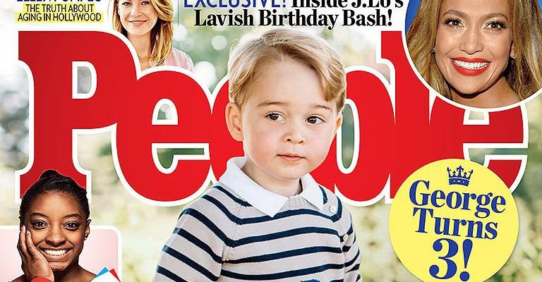 Premieră regală: Prințul George a avut prima apariție pe coperta unei reviste