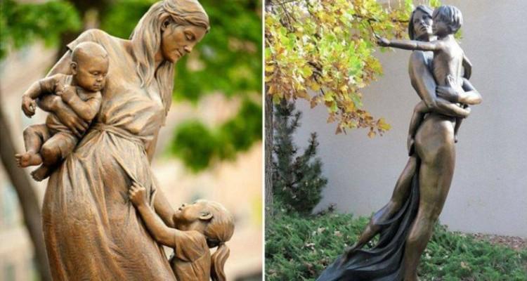 13 monumente din toată lumea care elogiază maternitatea (Foto)