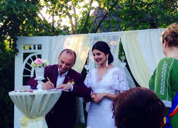 Primele imagini de la nunta lui Anatol Durbală și a Olesei Sveclă (Foto/Video)