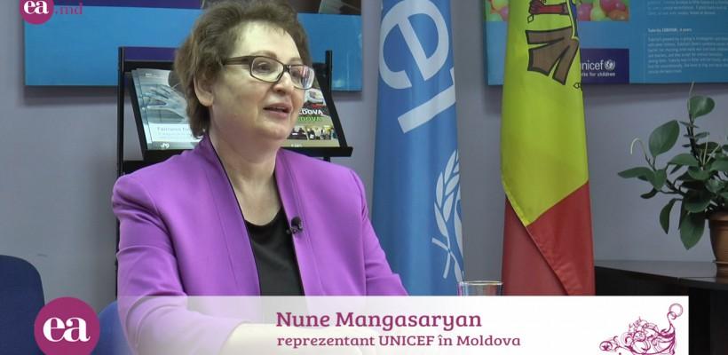 Nune Mangasaryan, Reprezentanta UNICEF în Moldova, despre alăptarea exclusivă: Nu cedaţi dacă vi se spune că laptele vostru nu este suficient de bun