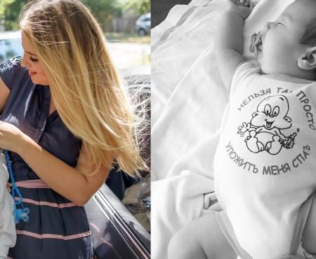 Olga și Alexandru Manciu nu mai ascund chipul bebelușului lor (Foto)