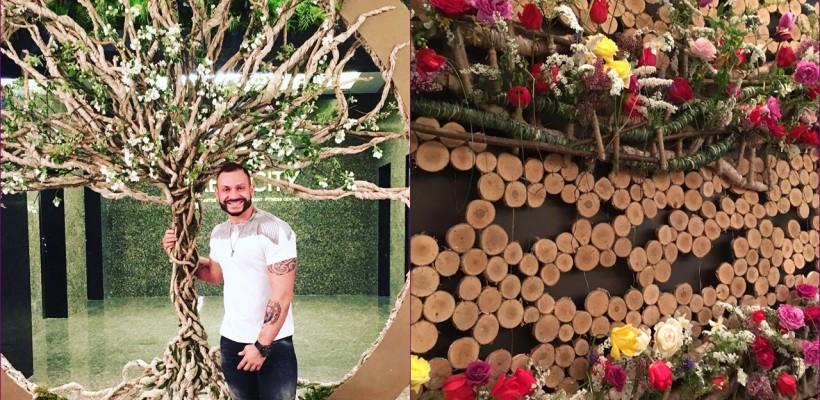 Ce sunt instalațiile floristice masive și care e rostul lor la un eveniment. Explicația floristului Slava Roșca
