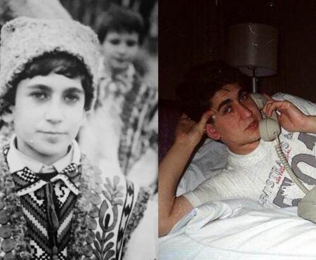 Corneliu Botgros, nostalgic după tinerețe? Iată cum arăta artistul la vârsta fiului său (Foto)