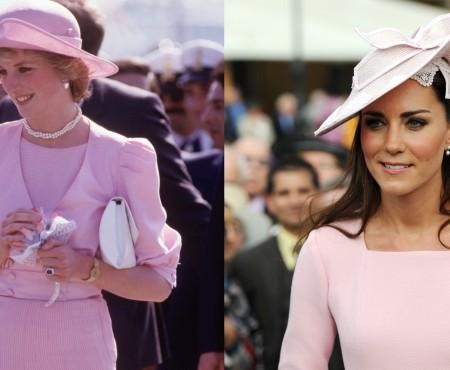 33 de ținute ale lui Kate Middleton, inspirate de la Prințesa Diana (Foto)
