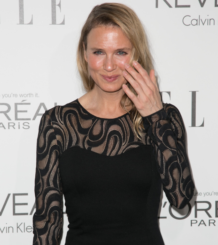 Celebrities attend ELLE's 21st Annual Women in Hollywood Celebration at the Four Seasons Hotel. Featuring: Renee Zellweger Where: Beverly Hills, California, United States When: 21 Oct 2014 Credit: Brian To/WENN.com