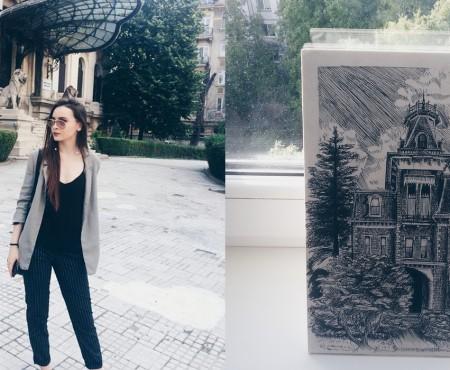 """Îndrăgostită de arhitectură, de viață și de frumos. Natalia Nani: """"Sunt o tânără entuziastă pentru care și imposibilul este posibil"""""""