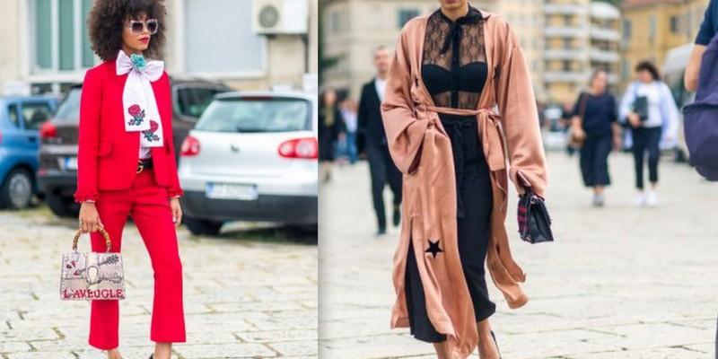 Săptămâna Modei de la Milano! Cum s-au afișat fashionistele pe stradă