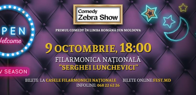 """După ce au făcut show la """"iUmor"""", cei din Comedy Zebra Show deschid un nou sezon acasă"""
