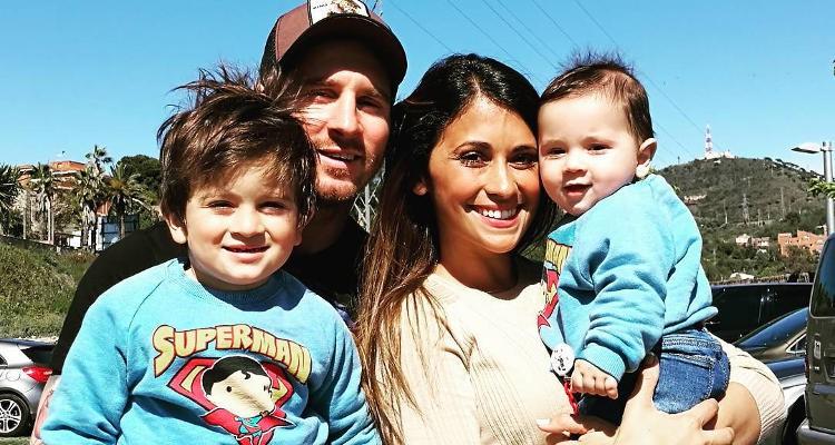 Leo Messi este un tătic fericit! Fotbalistul a sărbătorit aniversarea fiului său mai mic