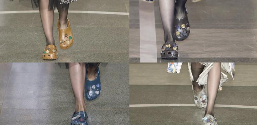 Crocs – papucii moi care au făcut furori la London Fashion Week