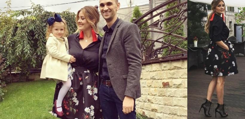 Fashion bloggerița Ana Ciorici și-a încreștinat fiul. Ce ținută a ales pentru botez (Foto)