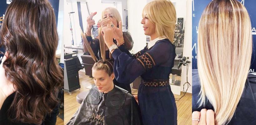 Două gemene din Germania fac agitație pe Instagram cu tehnicile lor de hairstyling