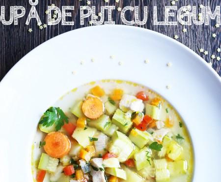 Nu ai mai gătit așa supa de pui cu legume! Valerie's Food ne dă rețeta (Video)