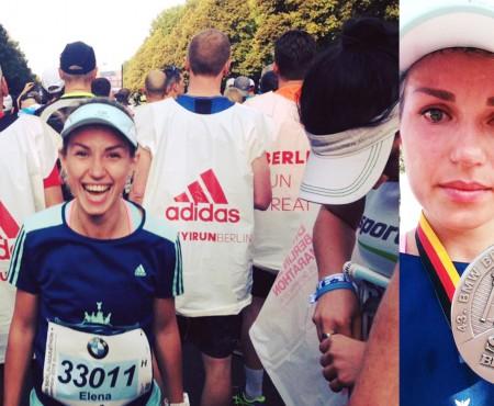 """""""Am reușit să iau Berlinul!"""" O bloggeriță din Moldova a alergat 43 km la BMW Marathon Berlin"""