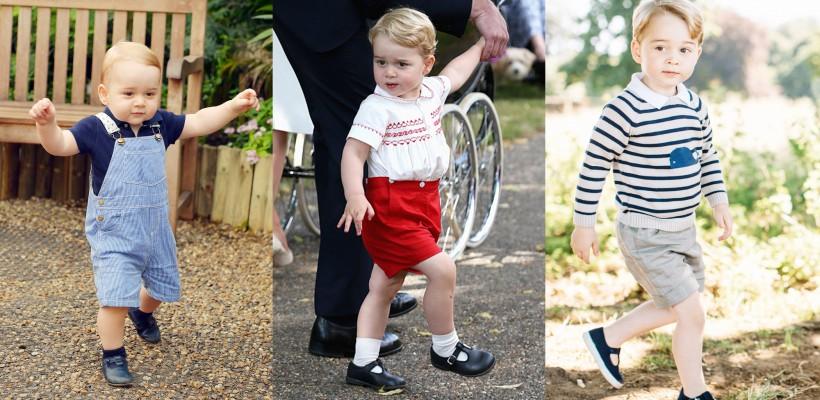 Mereu la fel! De ce Prințul George este îmbrăcat de fiecare dată în pantaloni scurți?