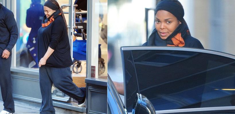 Graviduță la 50 de ani! Janet Jackson, fotografiată de paparazzi în ultimele luni de sarcină