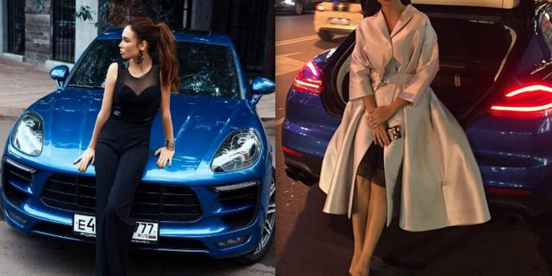 De la rochie, la trusa medicală! Leisan Utyasheva a arătat ce poartă în portbagaj!