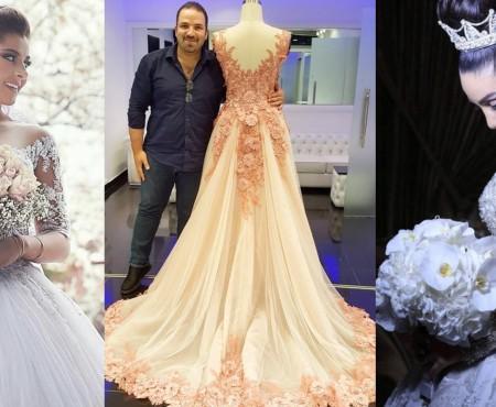 Croiește visul fiecărei mirese! Un alt designer din Beirut surprinde cu rochii fenomenale (Foto)