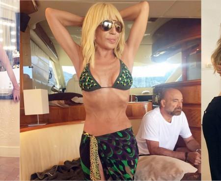 Donatella Versace nu renunță la sport nici la 61 de ani. Cât cântărește acum (Foto)