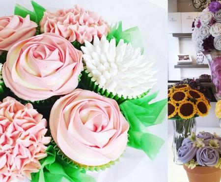 Buchetul din cupcake-uri – cel mai dulce dar pe care îl poți crea cu propriile mâini
