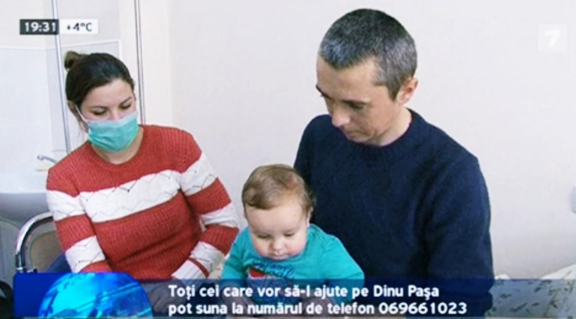 Un bărbat de 34 de ani are nevoie de tratament pentru a-și putea crește fiul de doar 10 luni