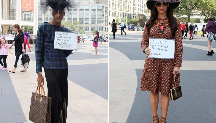Stilat, nu înseamnă bogat! Locuitorii New York-ului au recunoscut cât costa hainele de pe ei