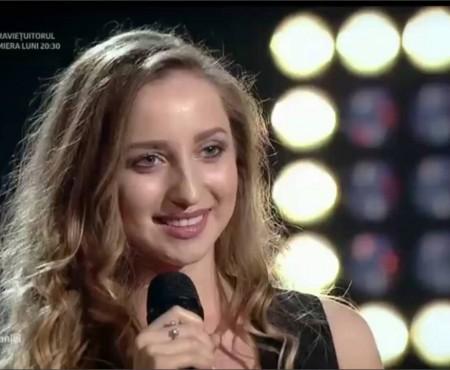 Corina Cuniuc, participanta moldoveancă la Vocea României a renunțat la concurs