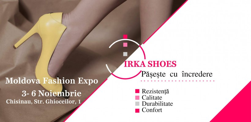 Pășește cu ÎNCREDERE – Colecția Irka Shoes la Moldova Fashion Expo. Iată ce surpize oferă (Foto)