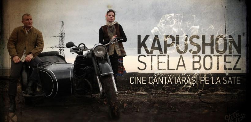 Stela Botez și Kapushon cântă drama basarabenilor care își lasă cuiburile, în căutarea unei vieți mai bune