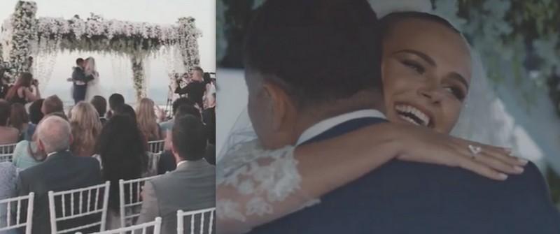 Parcă ar fi un film de Hollywood! Xenia Deli a arătat imagini spectaculoase de la propria nuntă (Video)