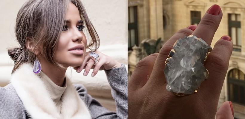 Ex-cântăreața Aleksa își lansează o primă colecție de bijuterii. Creațiile sunt încântătoare
