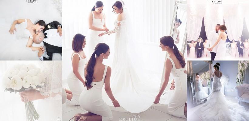 O echipă de fotografi imortalizează nunțile în fotografii fabuloase
