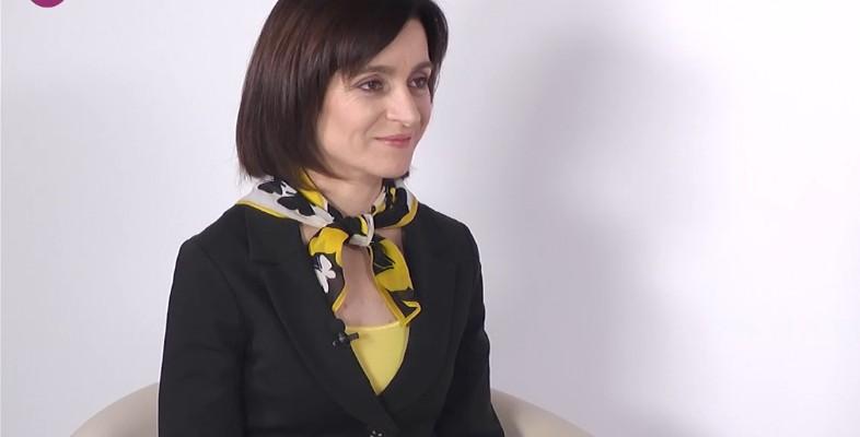 """Maia Sandu despre familie, copilărie și femeile din Moldova. """"Noi, femeile trebuie să venim să facem ordine"""". Interviu VIDEO"""