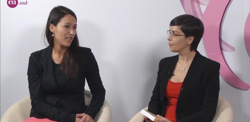 """Olesea Fortuna și Mihaela Stroe în studioul EA.md: """"Trebuie să educăm cultura antreprenorială femeilor"""" (Video)"""