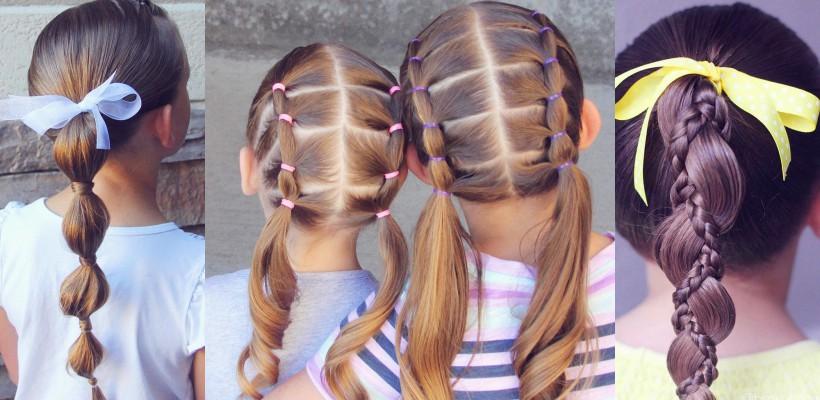 7 hairstyle-uri adorabile pentru fetițe, inspirate de o bloggeriță de peste ocean