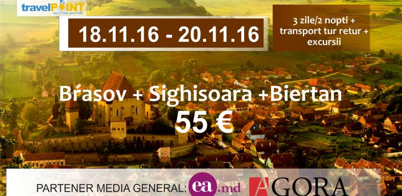 Tentația toamnei pentru iubitorii de călătorii. Photo trip în Brașov, Sighișoara și Biertan