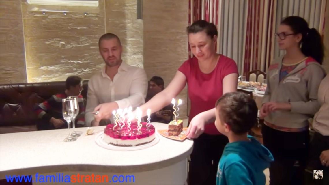 Pavel Stratan și-a arătat familia la a 46-a aniversare (Video)