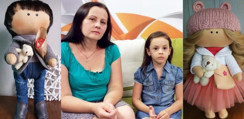 Păpușile Speranței și-au îndeplinit misiunea! Fetița Axanei Golub merge la investigații în Turcia