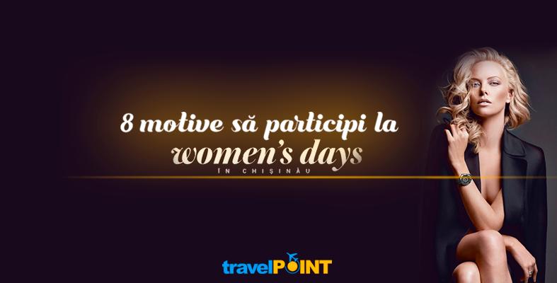 8 motive ca să nu ratezi cel mai grandios eveniment din Chișinău, dedicat femeilor