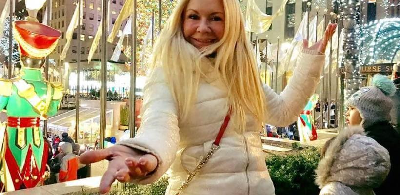 Ludmila Bălan, în vacanță la New York! Artista se bucură de atmosfera magică a sărbătorilor