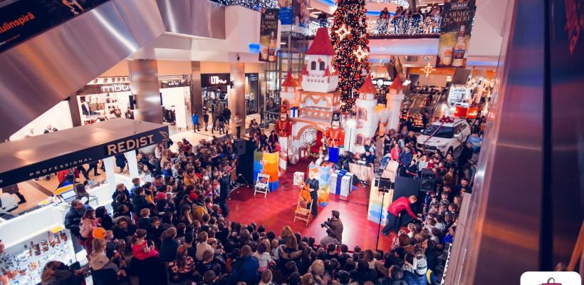 Shopping MallDova a dat startul sărbătorilor de iarnă!