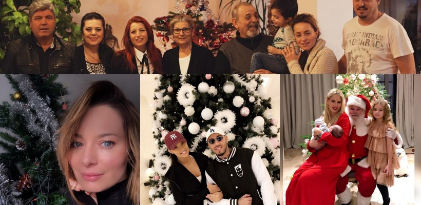 În sânul familiei sau alături de prieteni. Cum au sărbătorit Crăciunul vedetele din România (partea II)